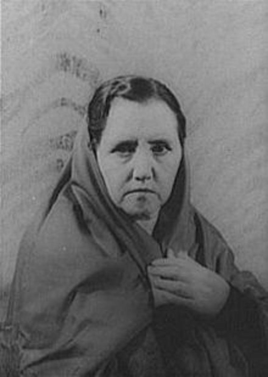 Sara Allgood as Maurya, photo taken by Carl Van Vechten, 1938