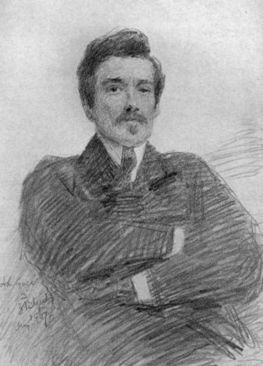 Edmund John Millington Synge (1871-1909) was an Irish playwright, poet, prose writer, travel writer and collector of folklore. He was a key figure in the Irish Literary Revival and was one of the co-founders of the Abbey Theatre.