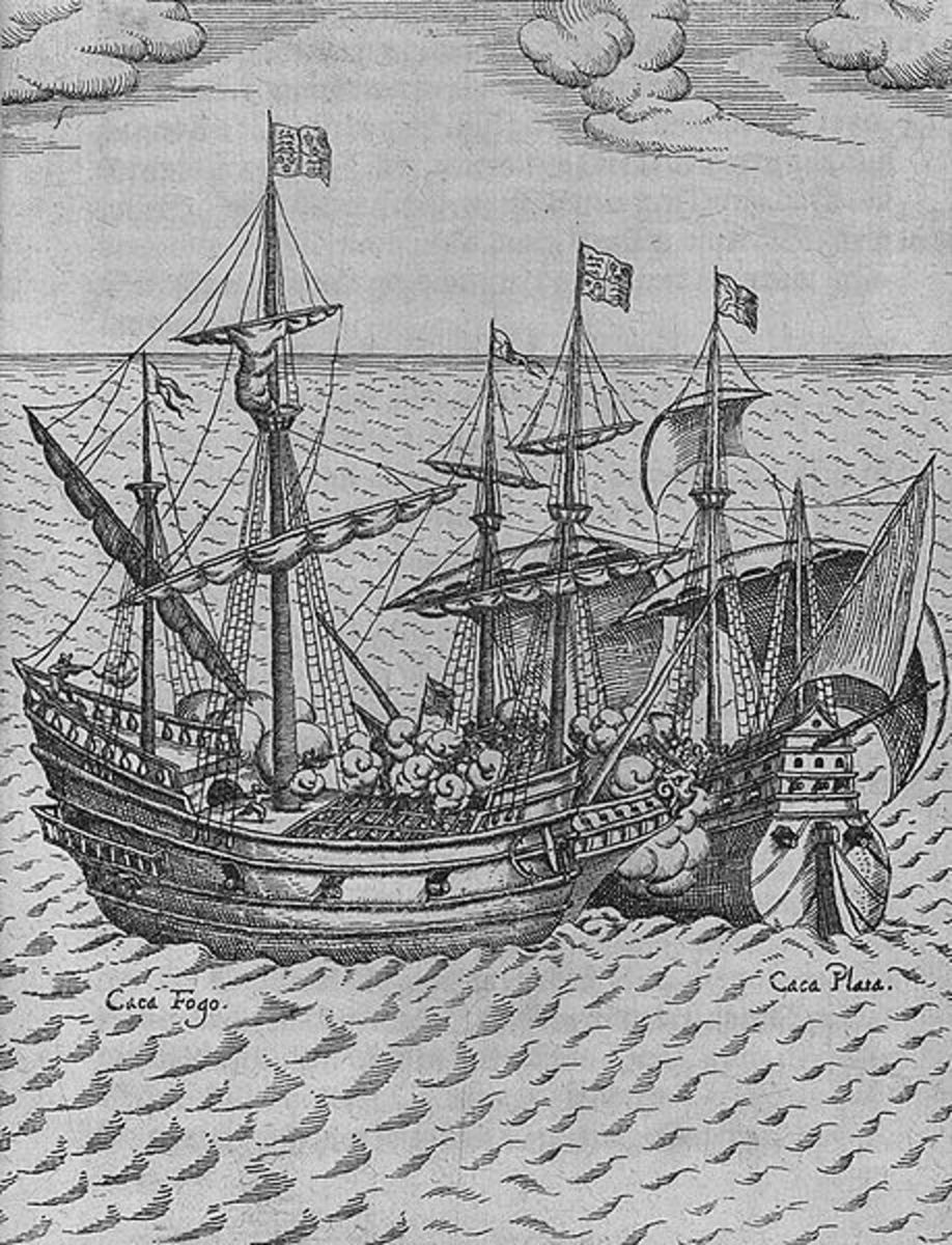 The Spanish treasure ship Carafuego is captured by Sir Francis Drake.
