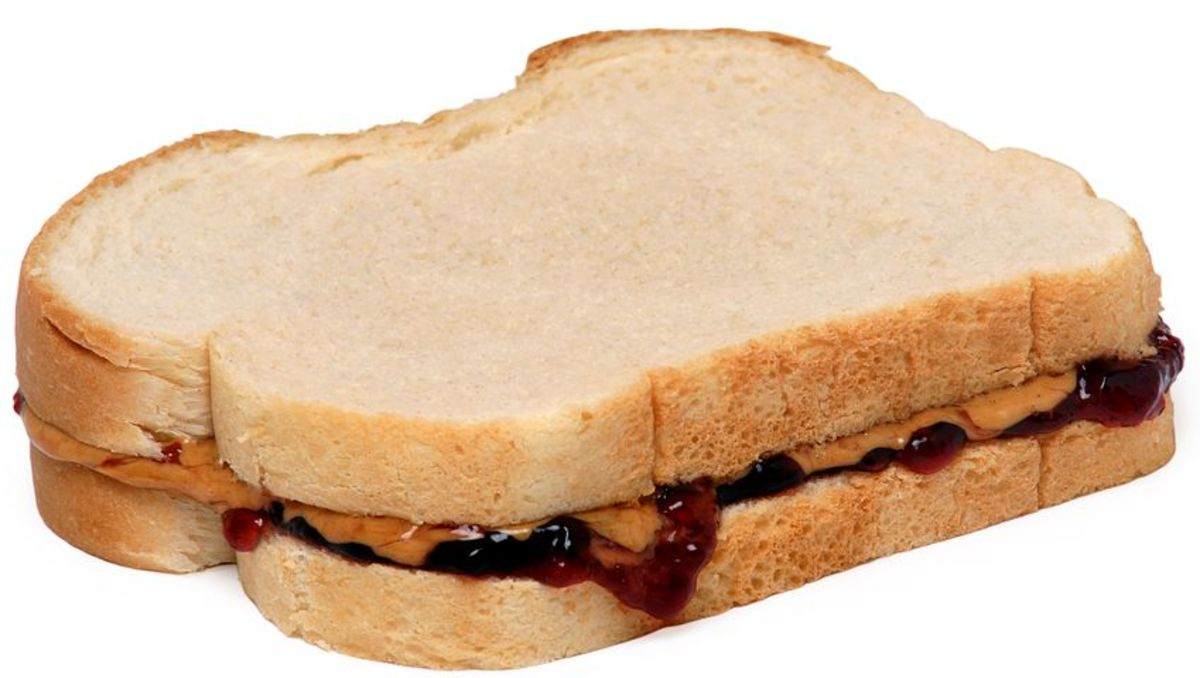 Peanut butter and jelly sandwiches are usually a novelty to ELLs.