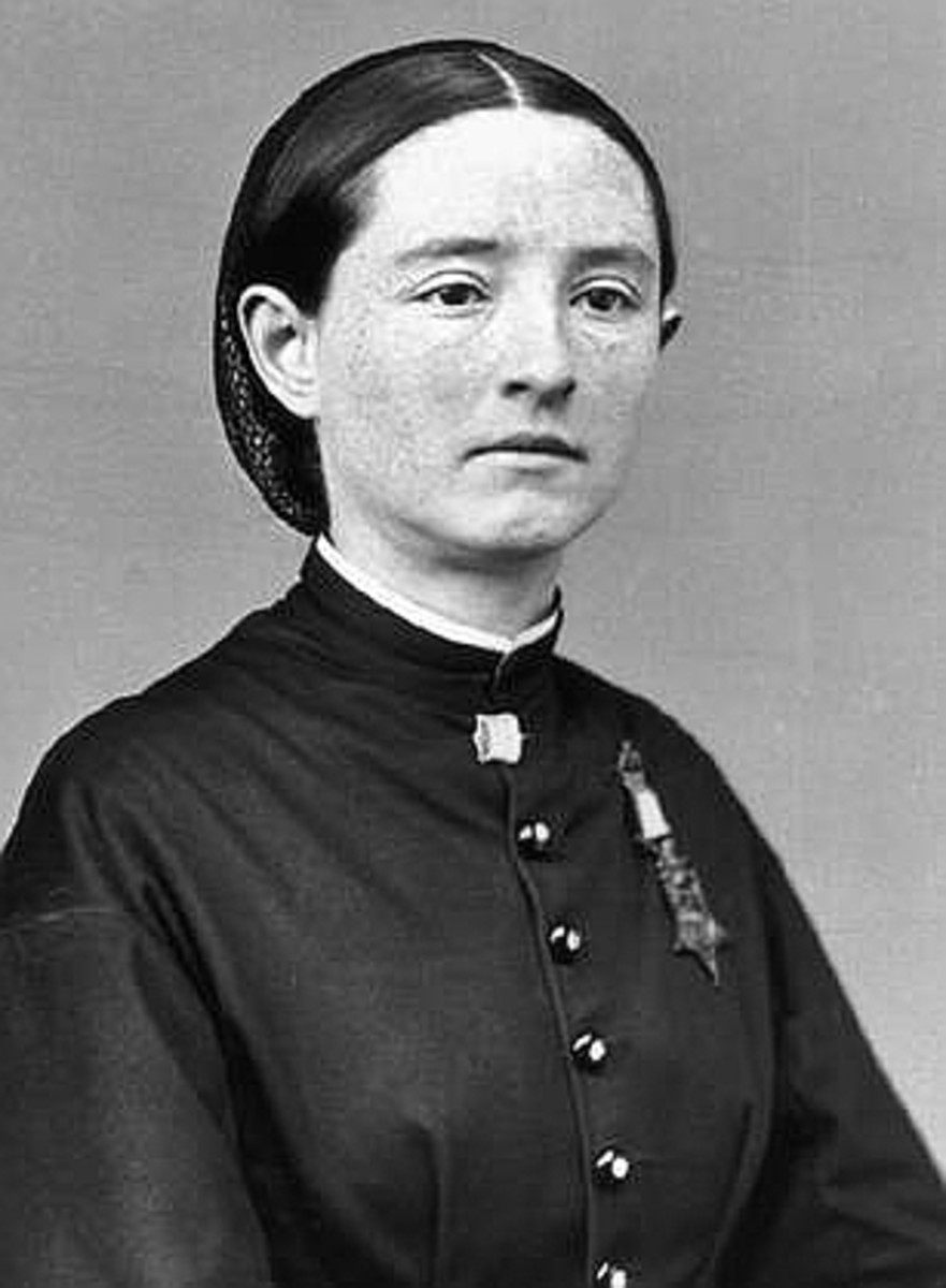 Dr. Mary E. Walker- The first and only women to be given a Medal of Honor.