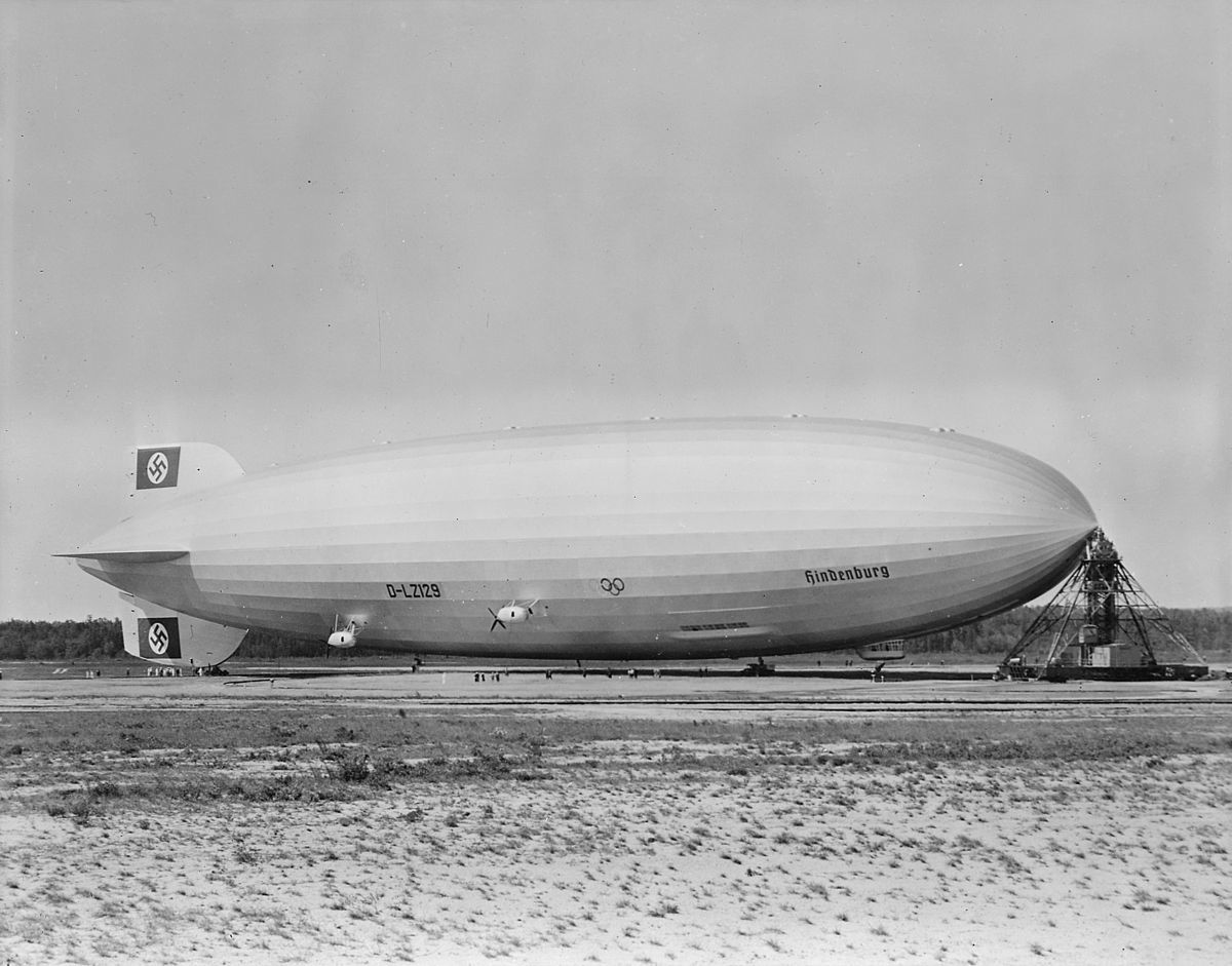 The Hindenburg.