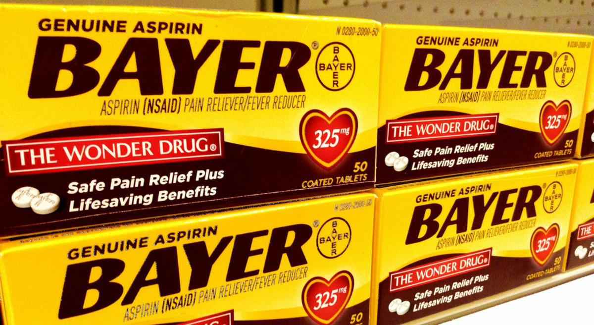 As you can see, Bayer are fully comfortable with using the term 'Wonder Drug' in relation to their own product. A tad big-headed, if you ask me, though Aspirin is pretty wondrous.