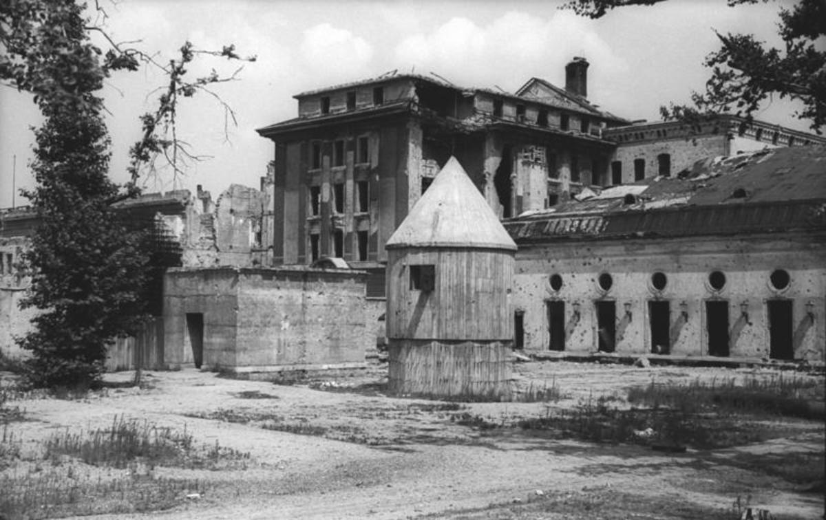The Adolf Hitler's final headquarters Berlin   1945