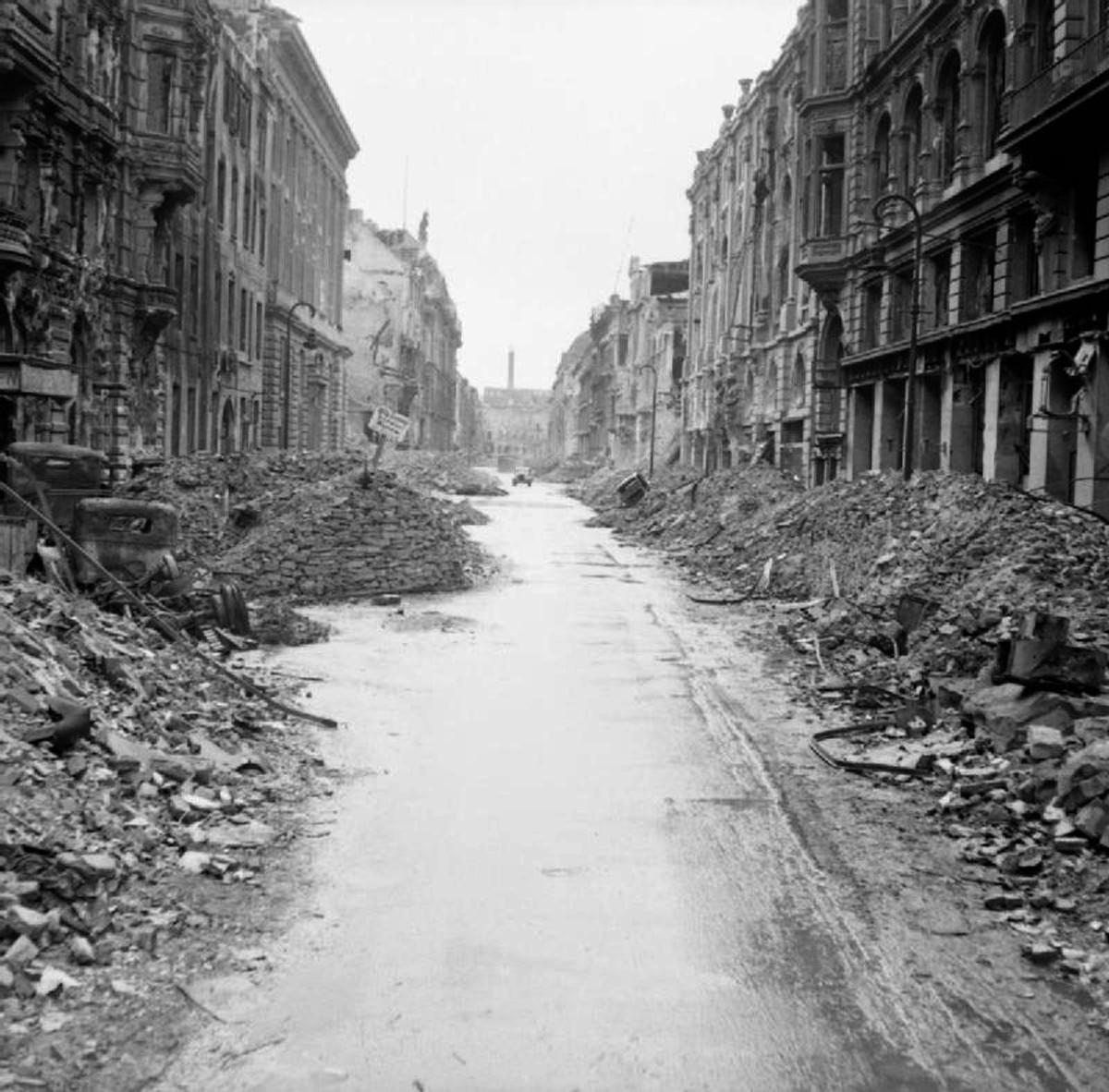 Street in Berlin 1945