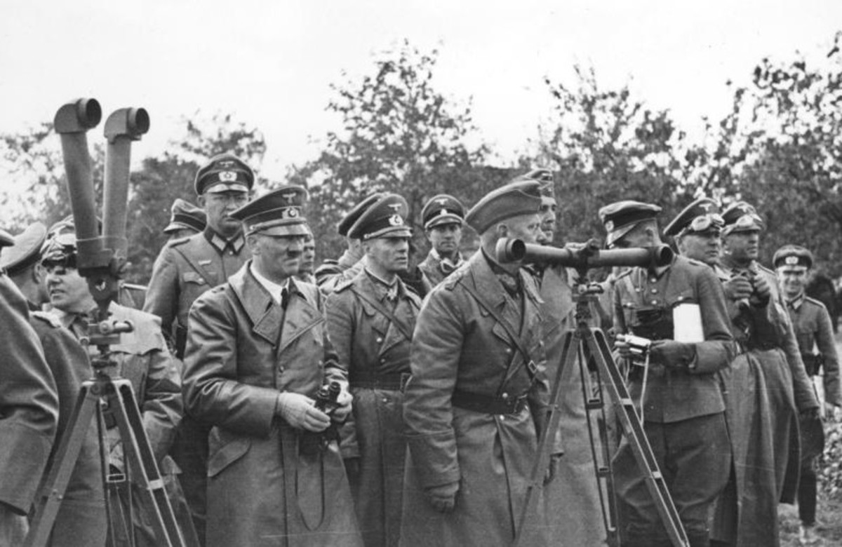 Hitler September 1939 during the invasion of Poland. Hitler's decision to invade Poland in September 1, 1939, brought about the Second World War. German forces would conquer Poland in less than 5 weeks and the Blitzkrieg was born.