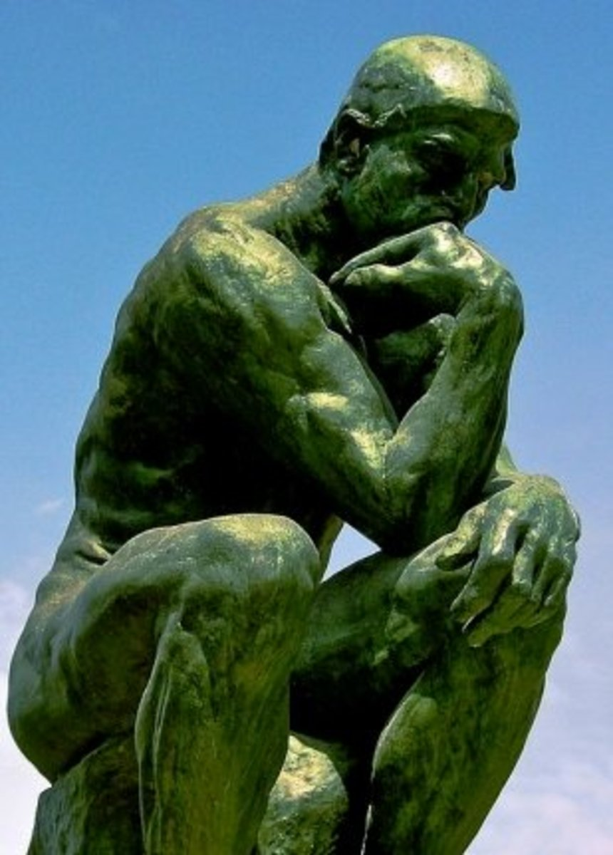 The Thinker - Museum Rodin, Paris