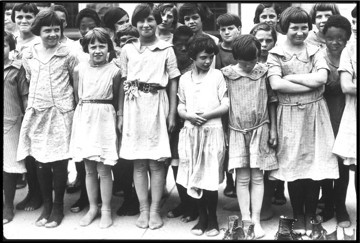 1933- Letchworth Village Girls Group Abandoned Insane Asylums