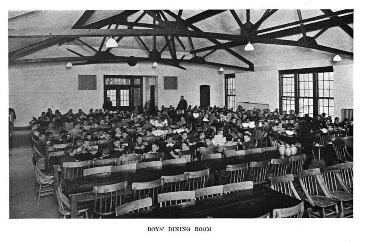 Boys' Dining Room Letchworth Village Abandoned Insane Asylums