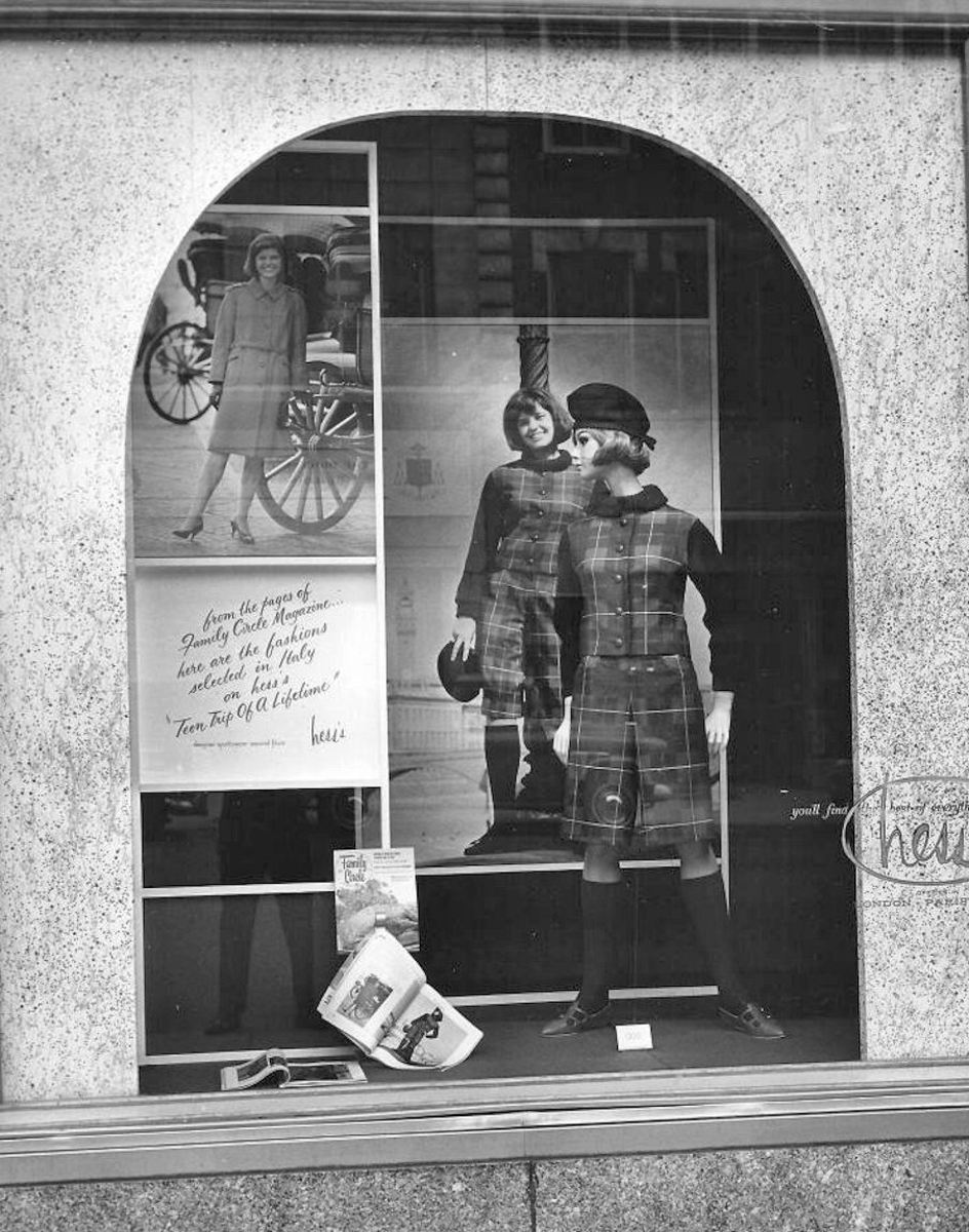 1965 Teen oriented window display