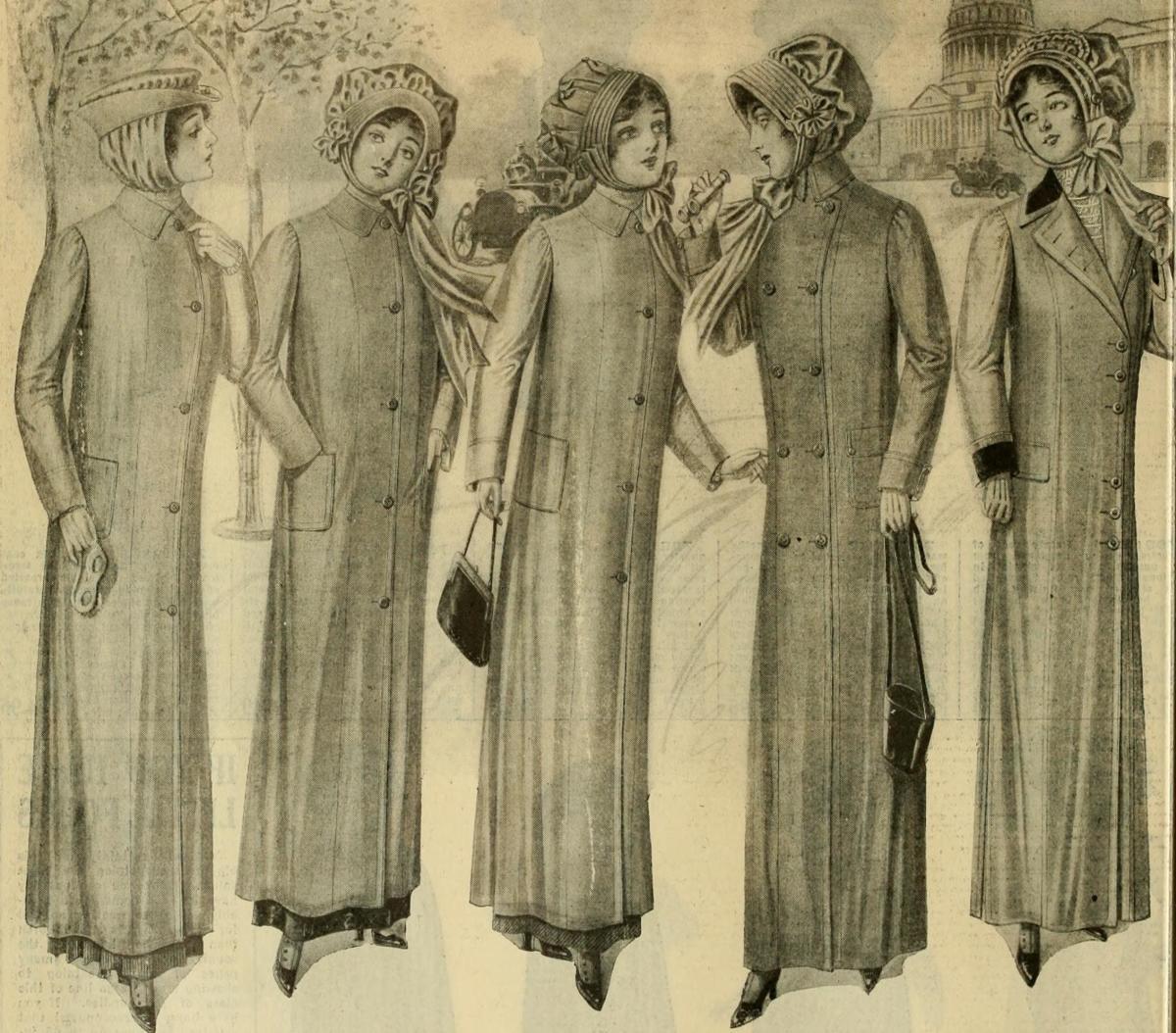 Macy's fashion ad circa 1911
