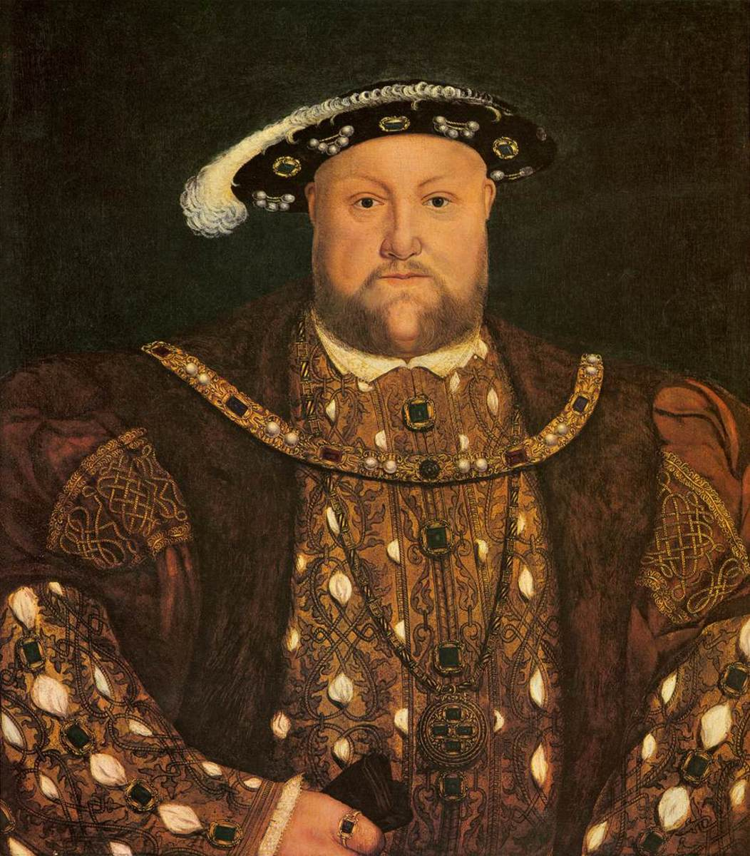 Henry VIII. Henry had an ego and a temper, but he started a dialogue for change.