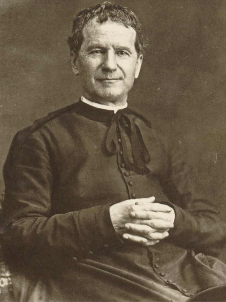Don Bosco in 1880, aged 65.