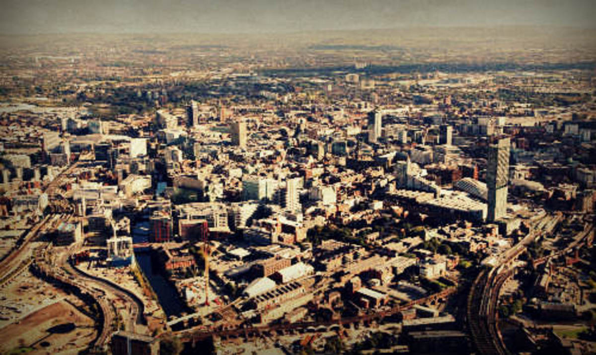 Manchester, future home of the Northern Powerhouse.