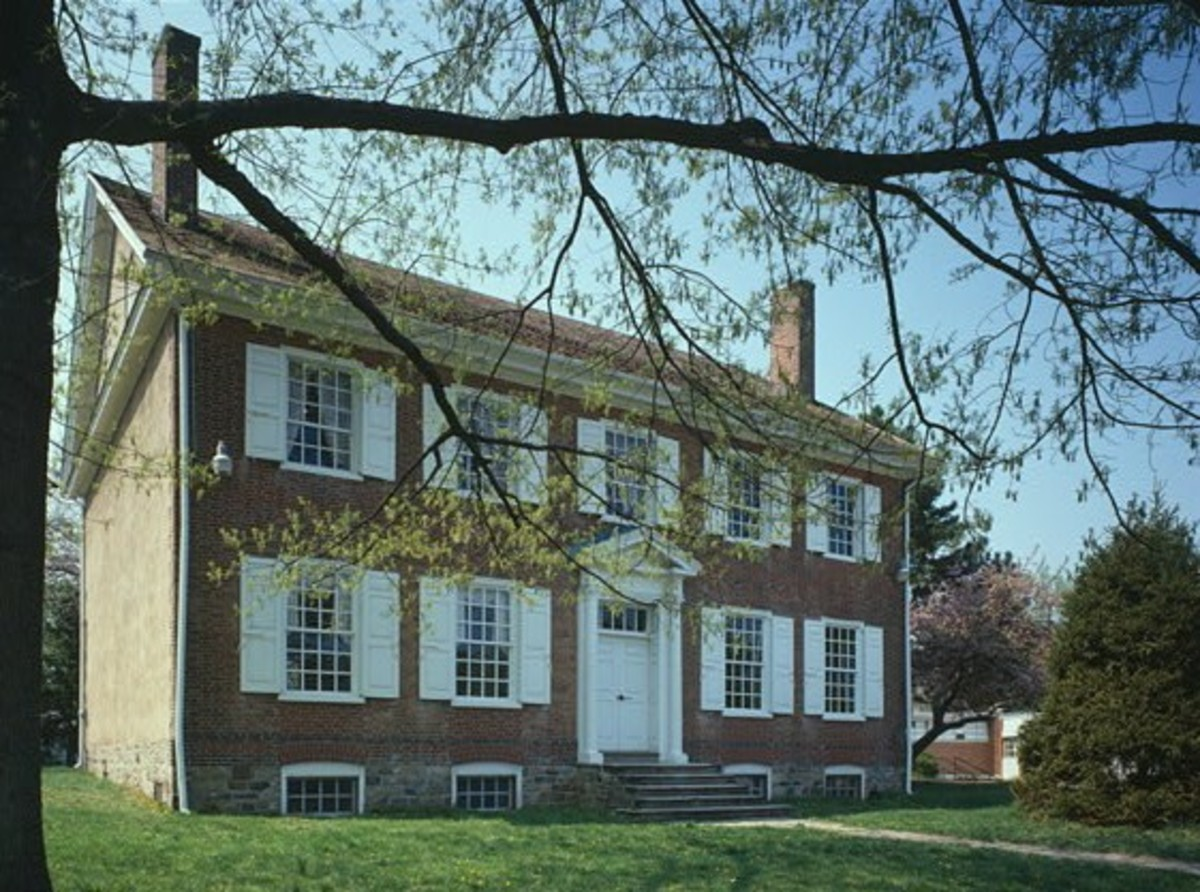 Summerseat, the Clymer family home, is now a National Monument.