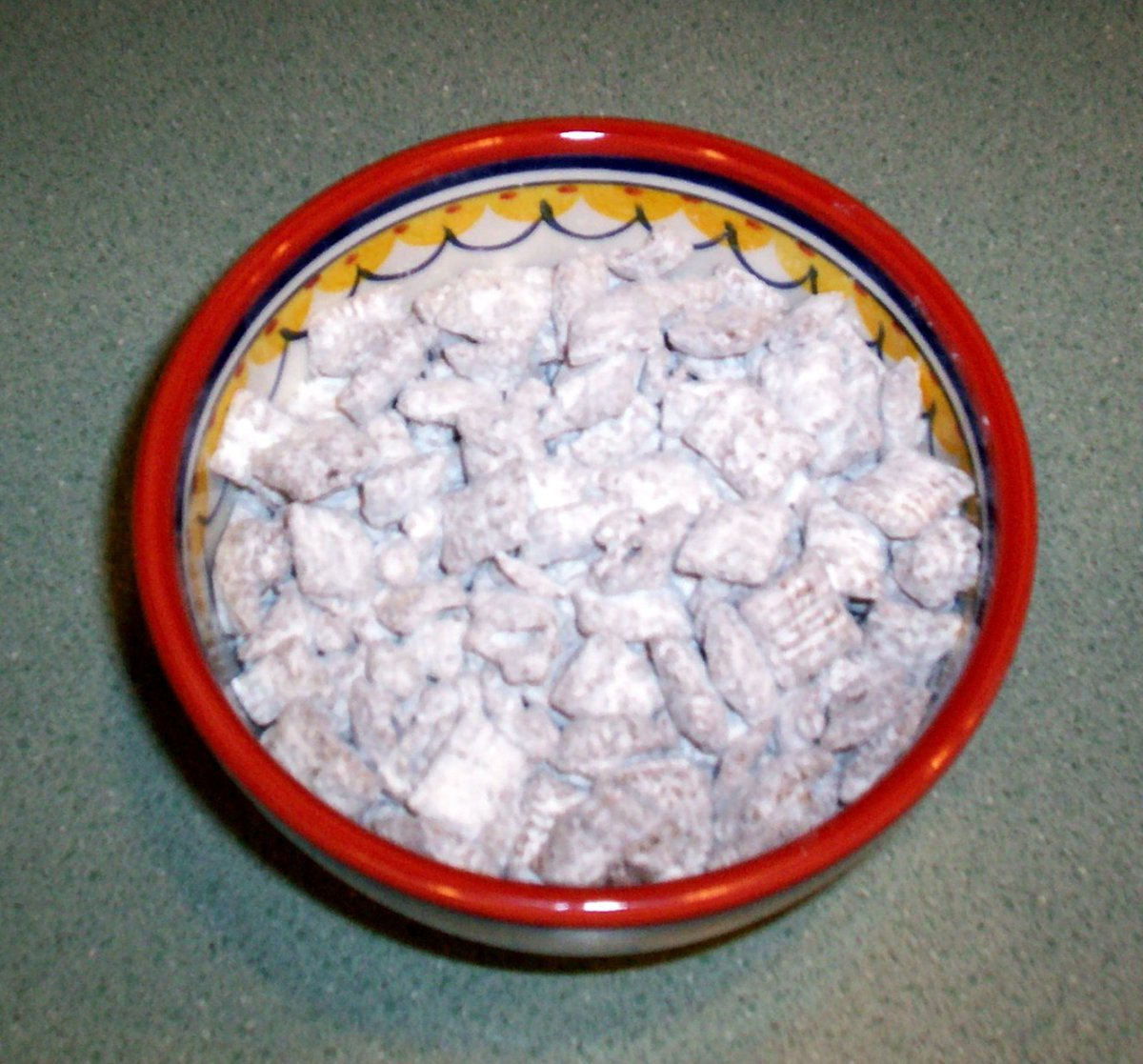 Party food? You can't go wrong with puppy chow!