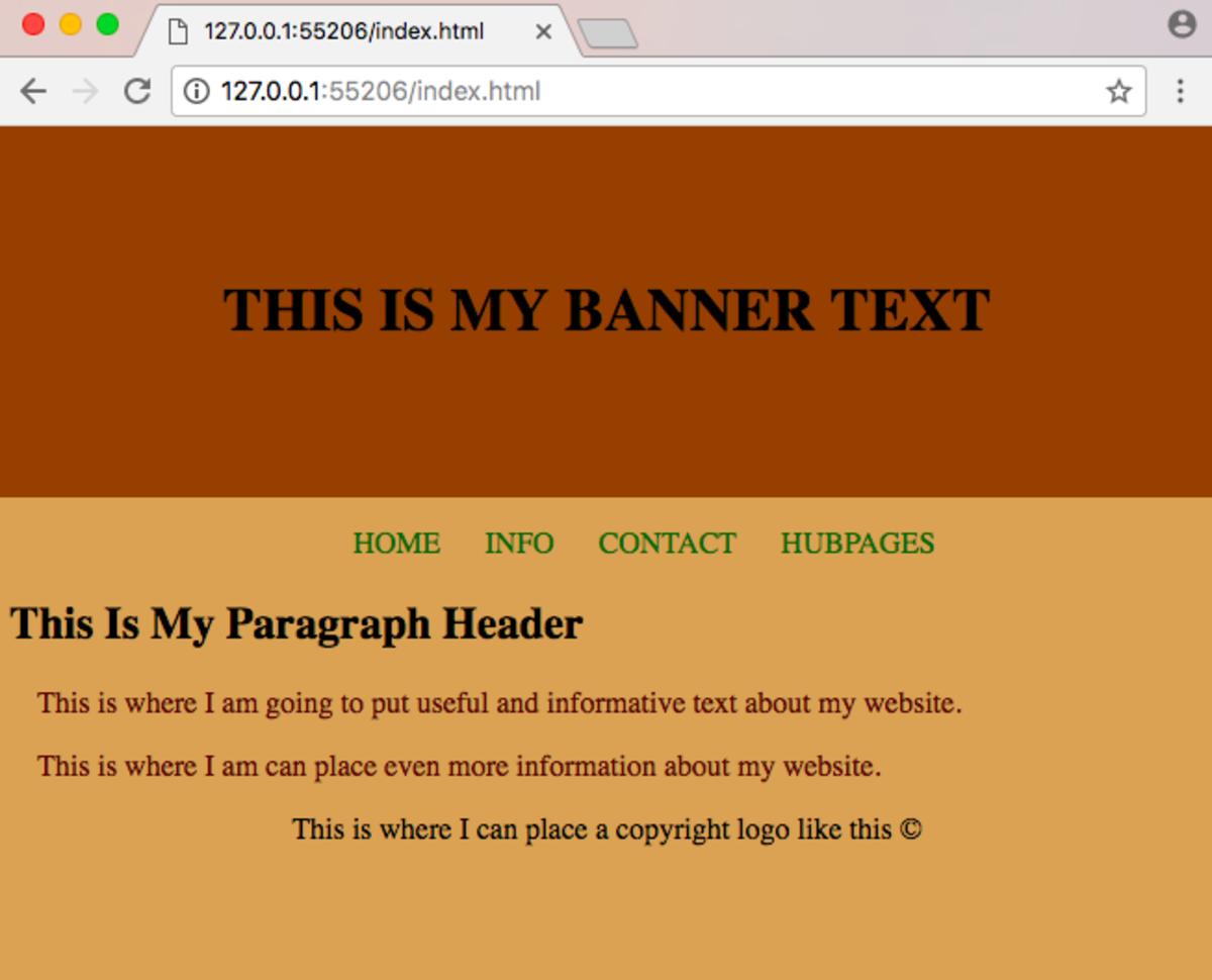 Basic Web Design With Html Css Owlcation Education
