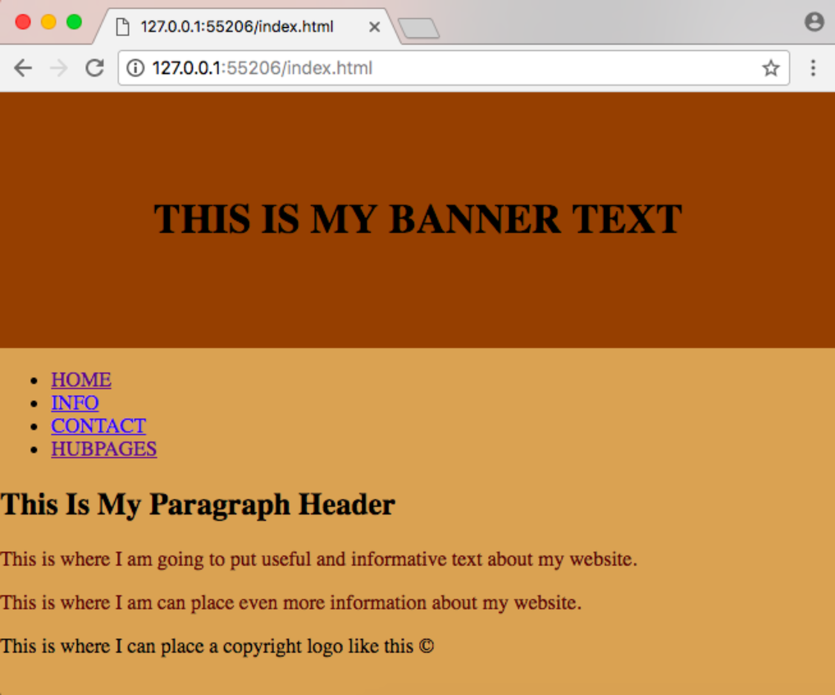 Fixing Your Website's Banner