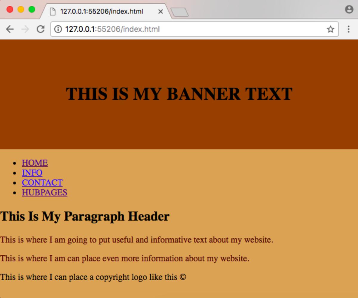 Fixing Your Website's Banner
