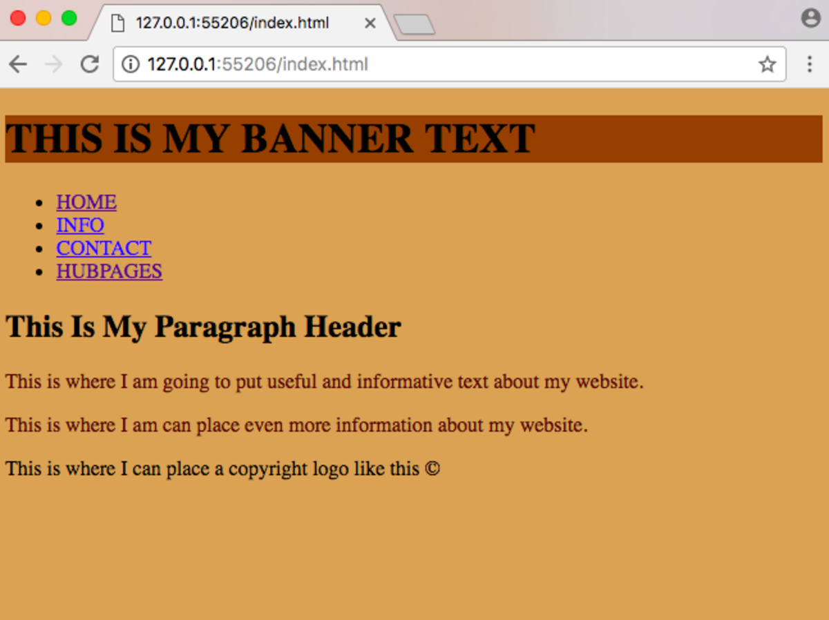 A Website With Some Color