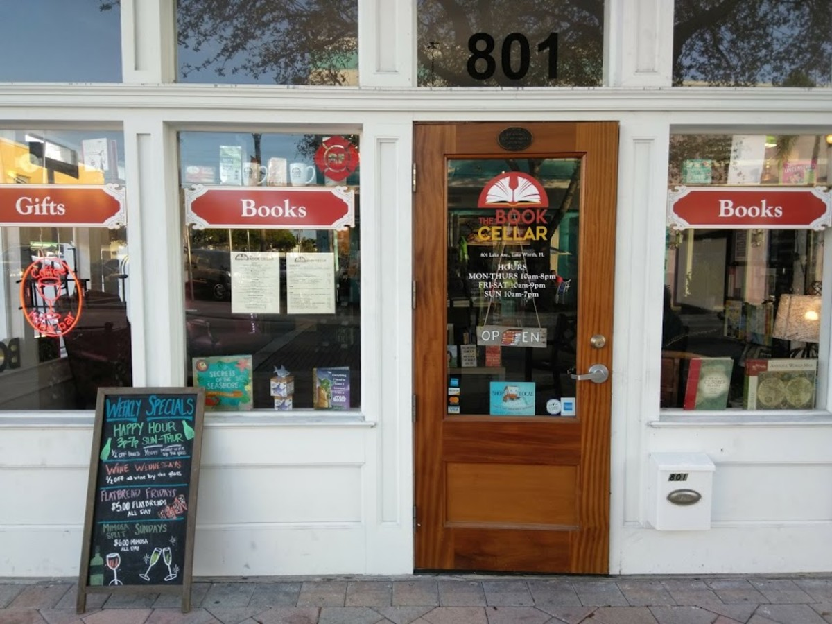 Book Cellar in Lake Worth, Florida