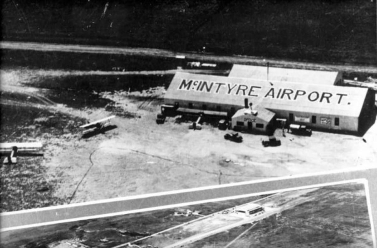 McIntyre Airport, 1928