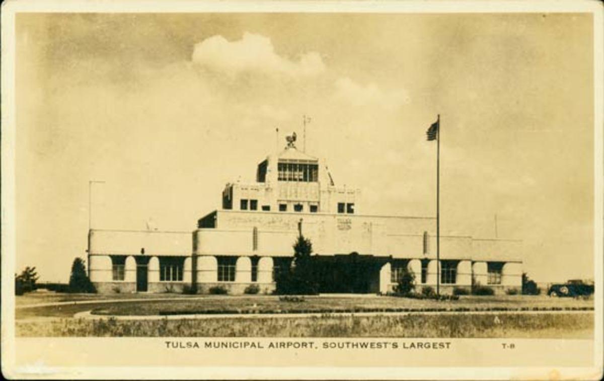 Tulsa Airport Terminal, 1930s