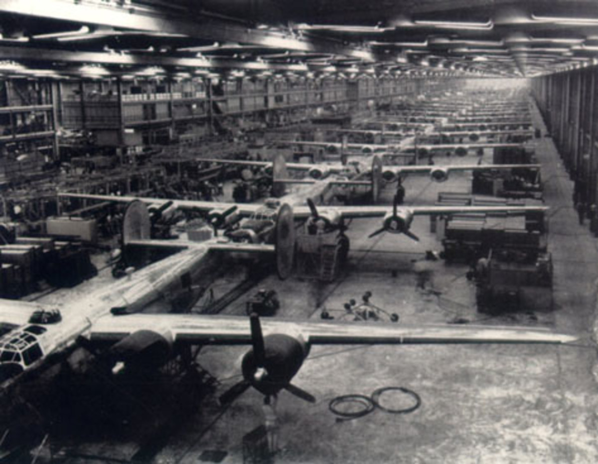 The Denison and Tulsa Districts built facilities needed to mobilize a nation at war.