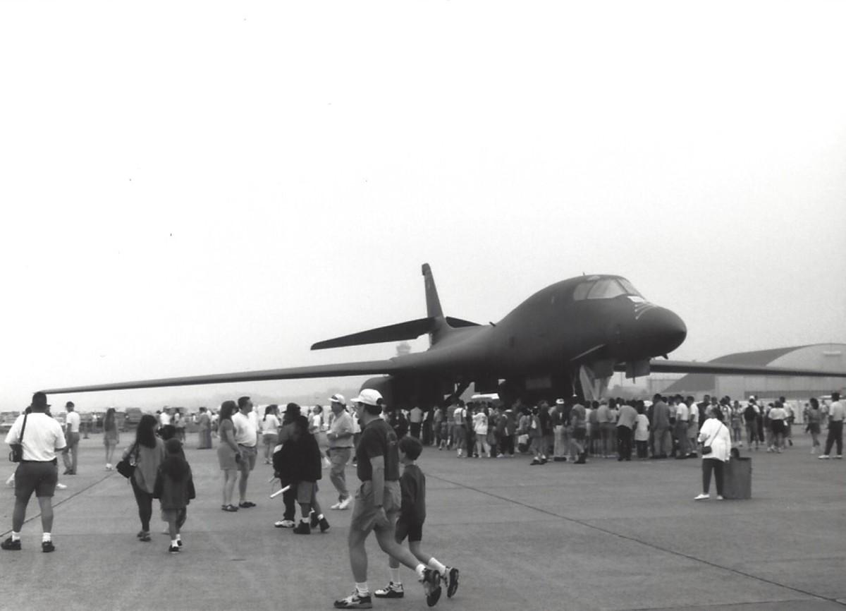 The B-1B Deliverance