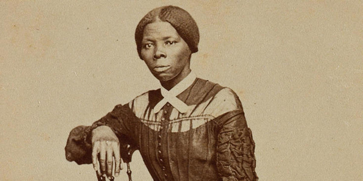 Harriet Tubman as a young woman.