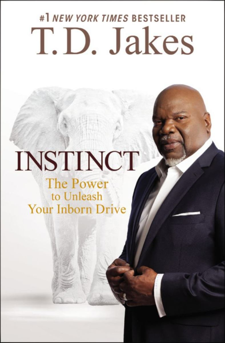 Bishop TD Jakes writes a lot of books. This is just one of them.