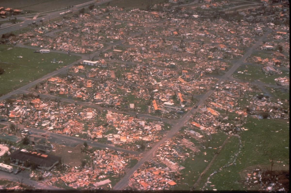 Effects of Hurricane Andrew 1992
