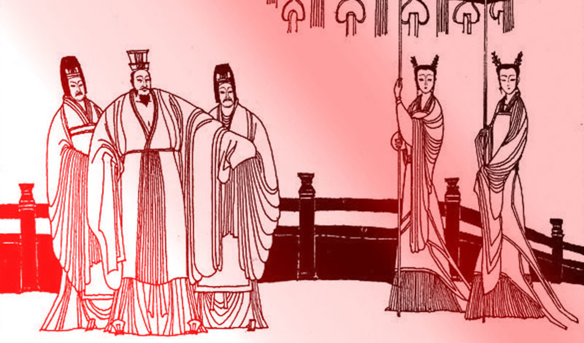 Jin Hui Di is the only ruler on this list of terrible Chinese emperors that deserves sympathy.
