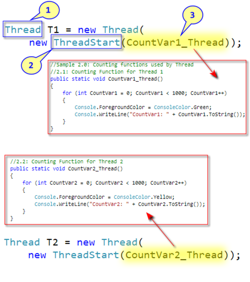 Creating Simple Threads in C#