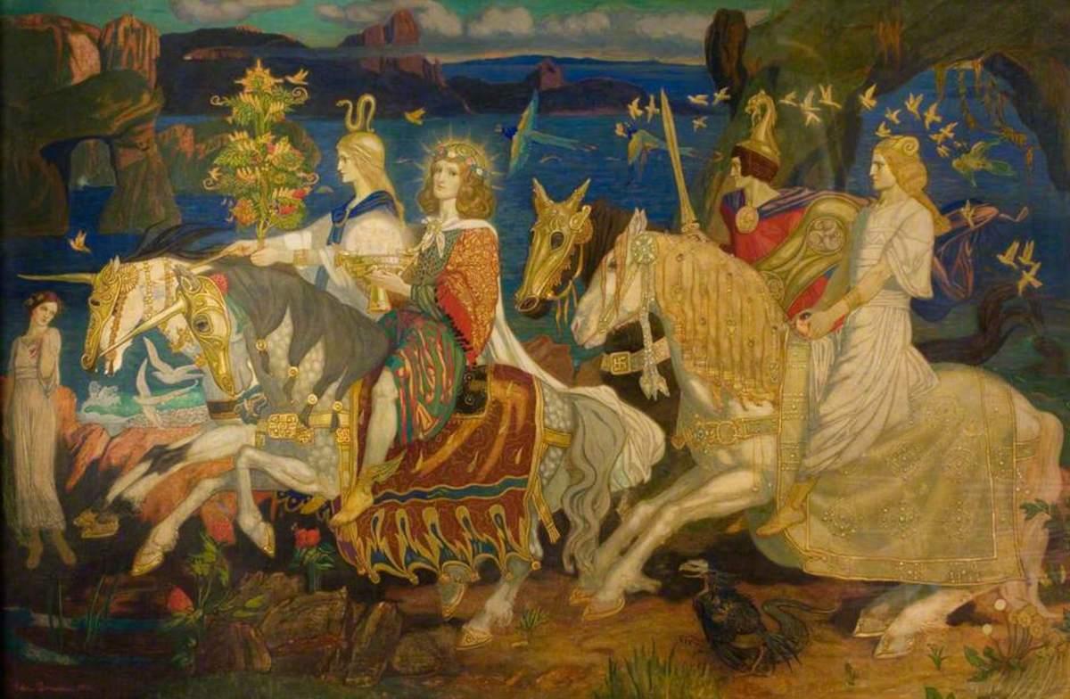 Riders of the Sidhe (John Duncan 1911)