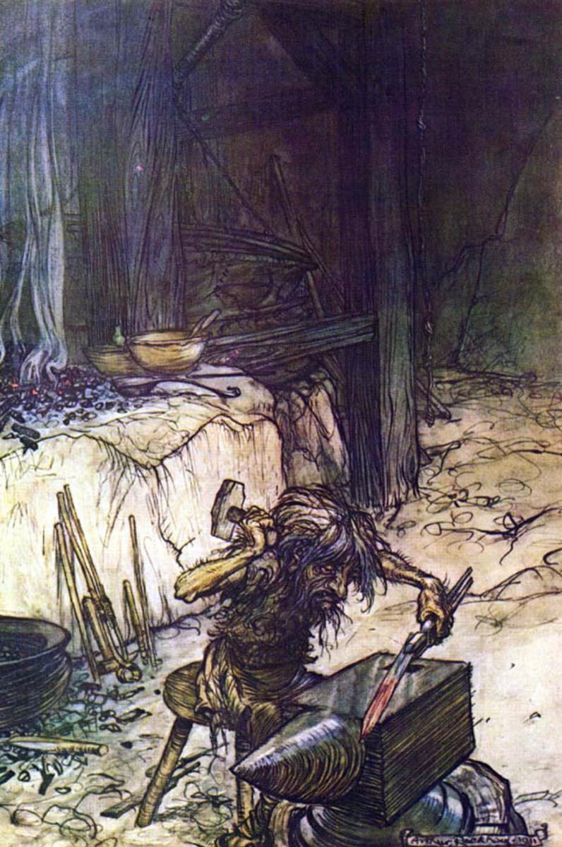 Reginn (Arthur Rackham)