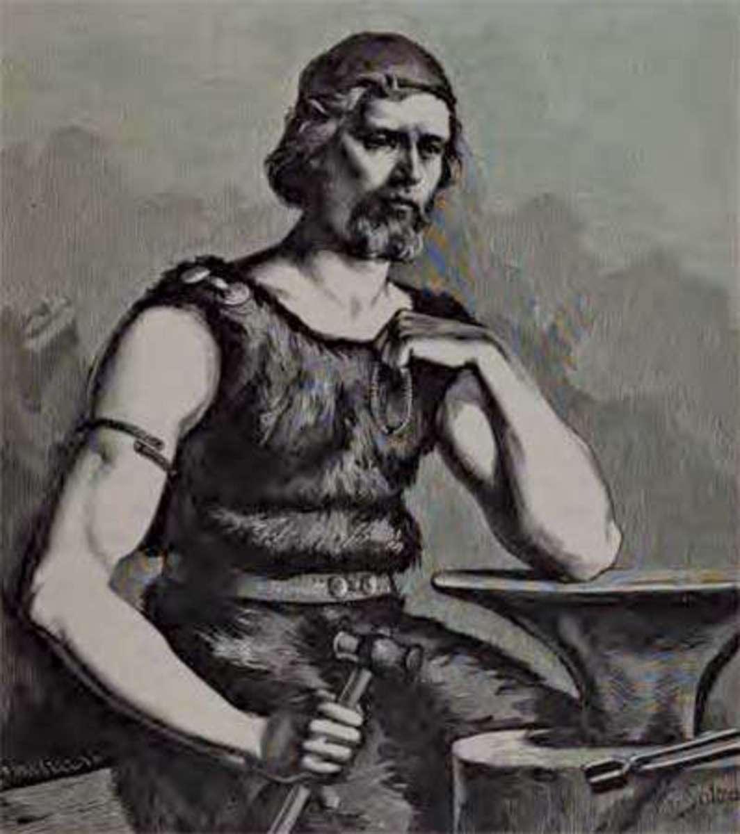 Wayland the Smith (Fredrik Sander 1893)