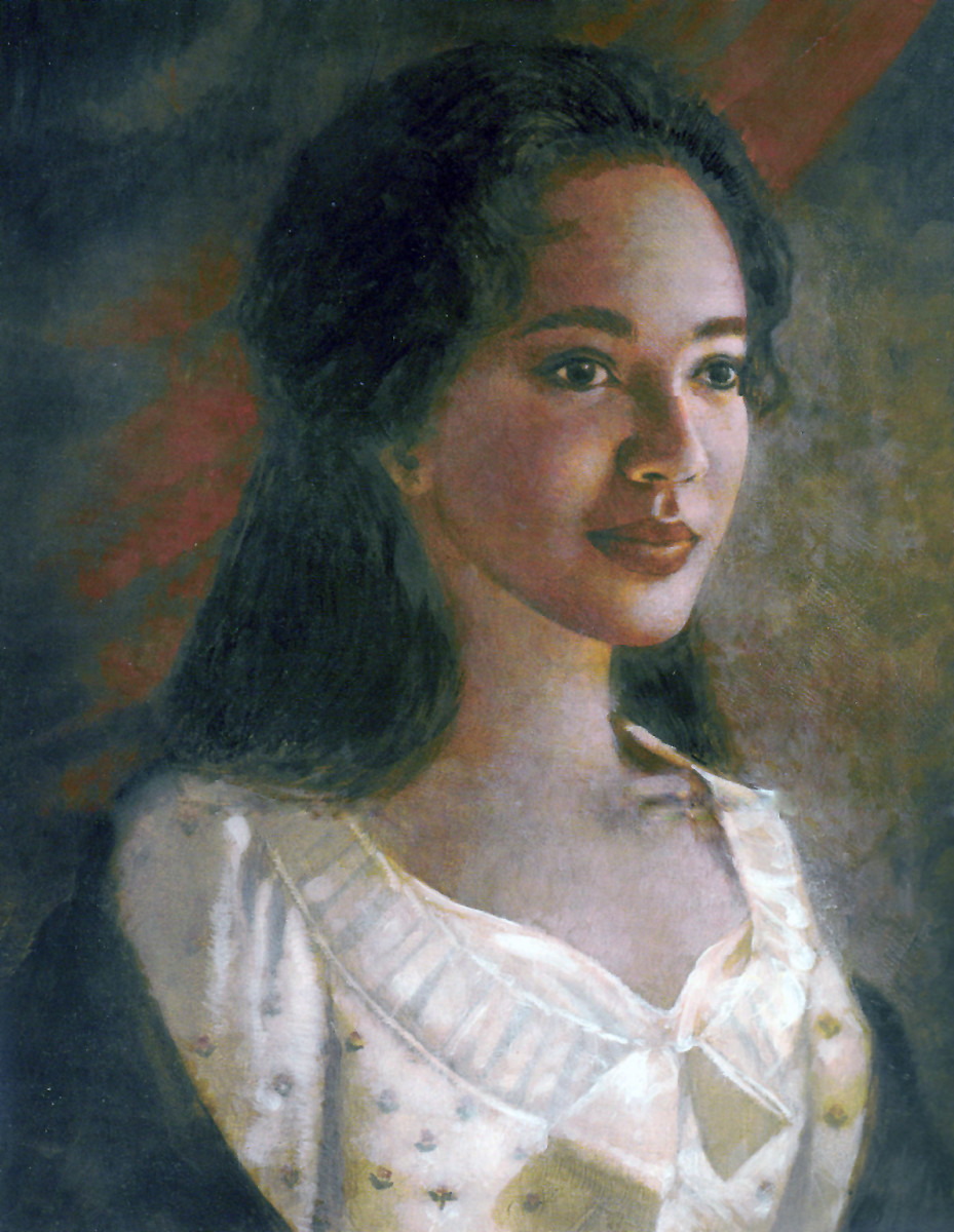 Artist's rendition of Sally Hemings.