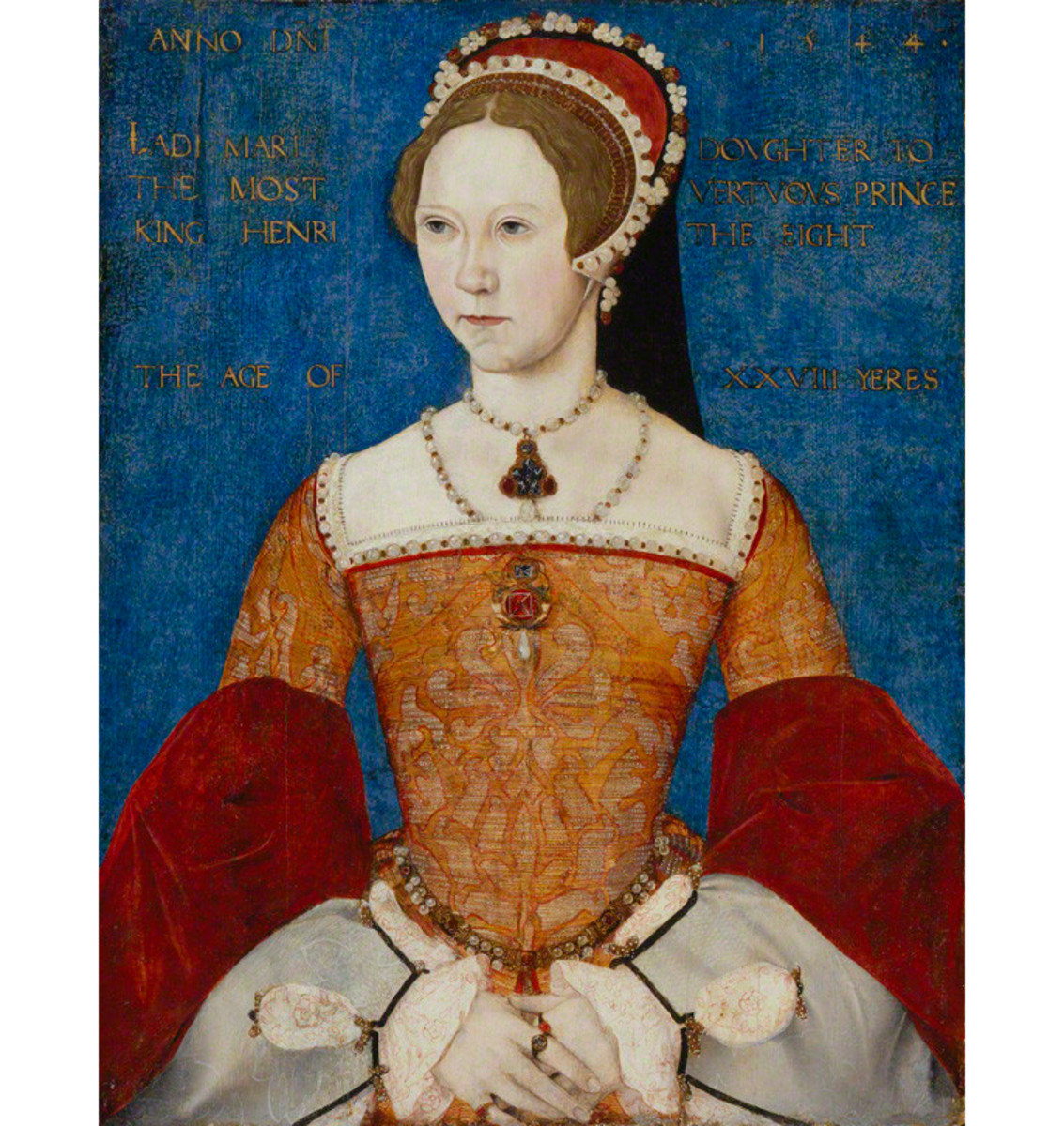 Quite misunderstood and justly earned, Mary I