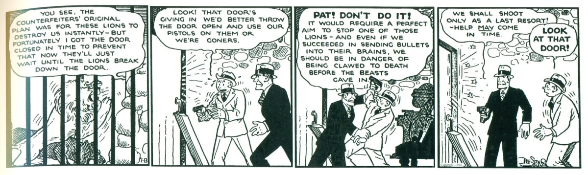 Dick Tracy Strip from 1932