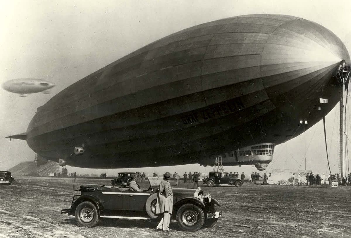 The Graf Zeppelin.