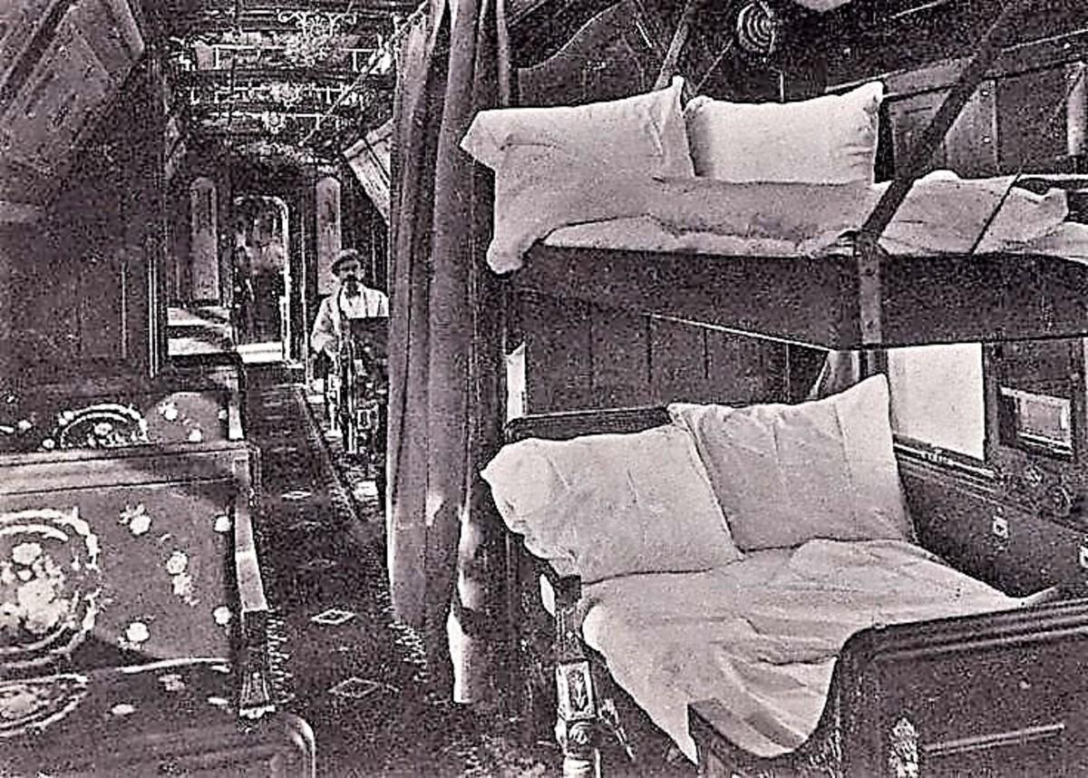 1800's Style Sleeping Cars