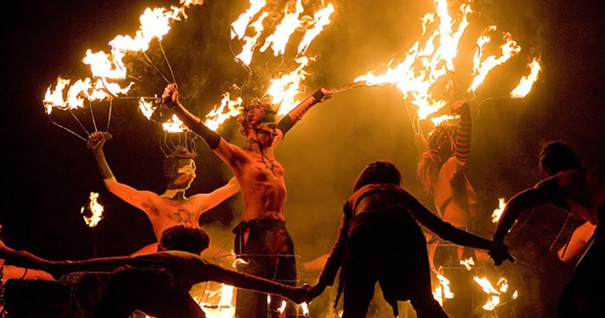 Edinburgh Beltane Fire Festival 2018