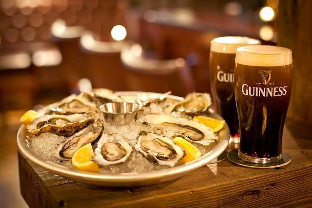 Oysters and Guinness