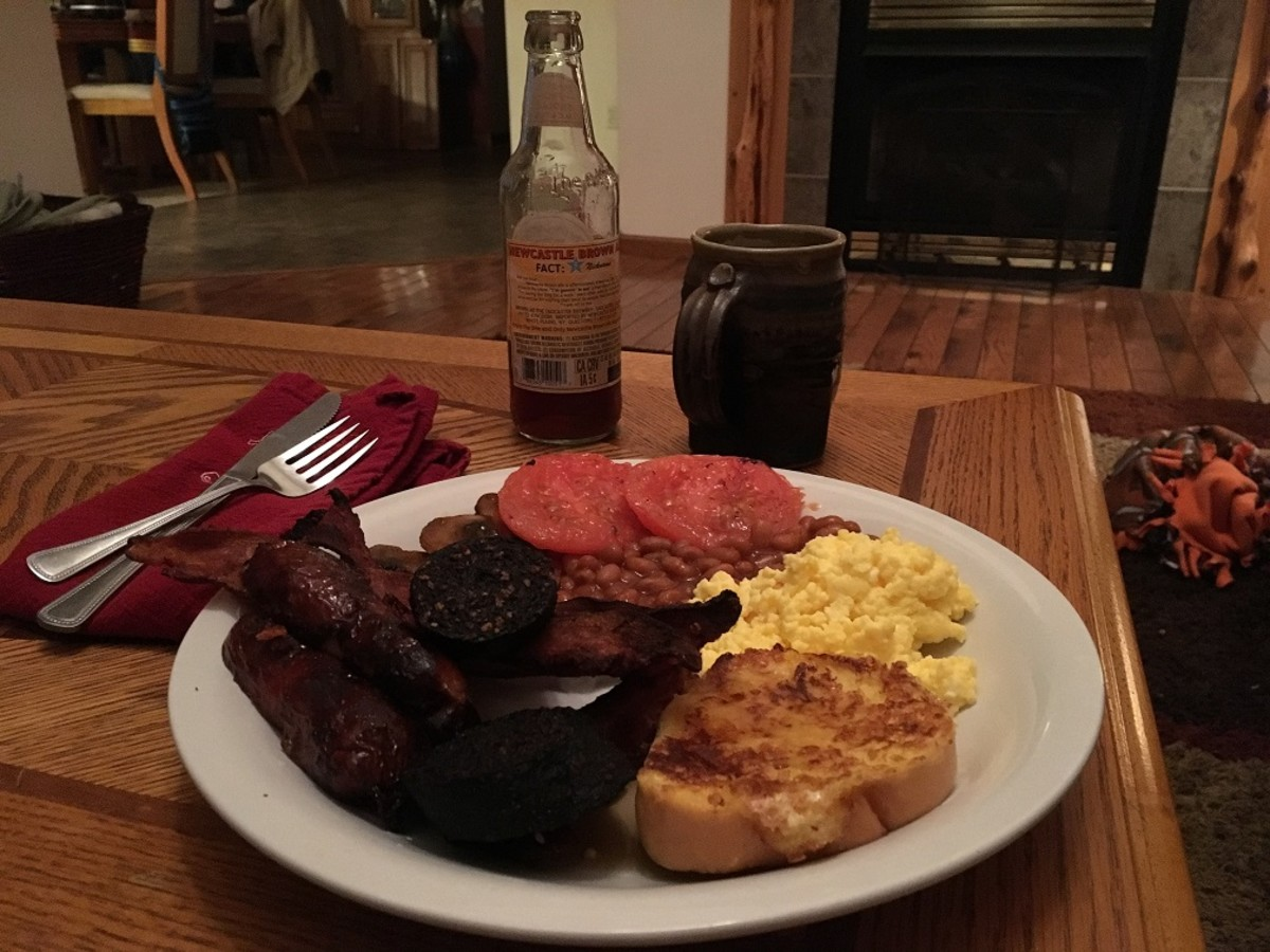 The Full Breakfast, American style.