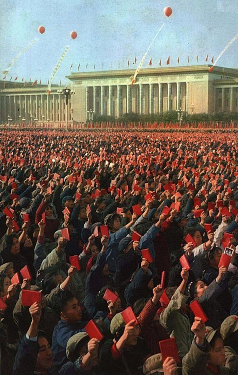 Red Guards in Beijing