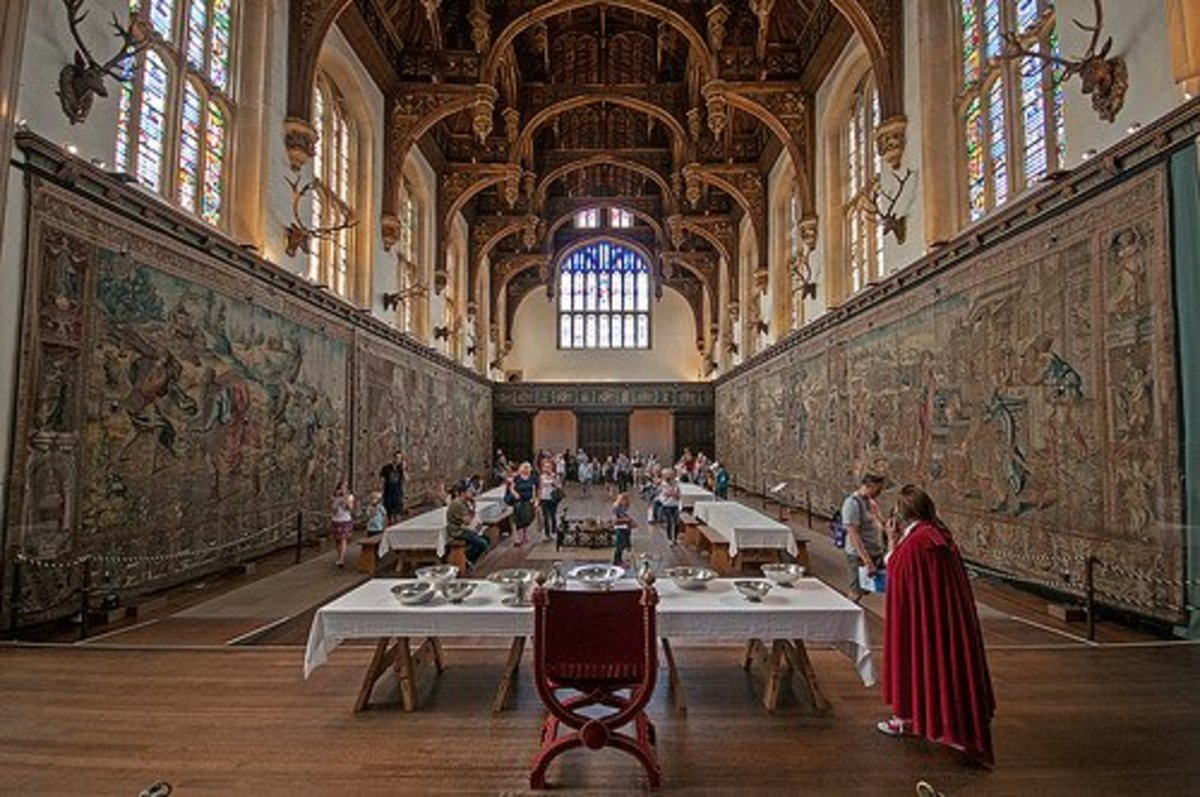 Hampton Court's Great Hall.