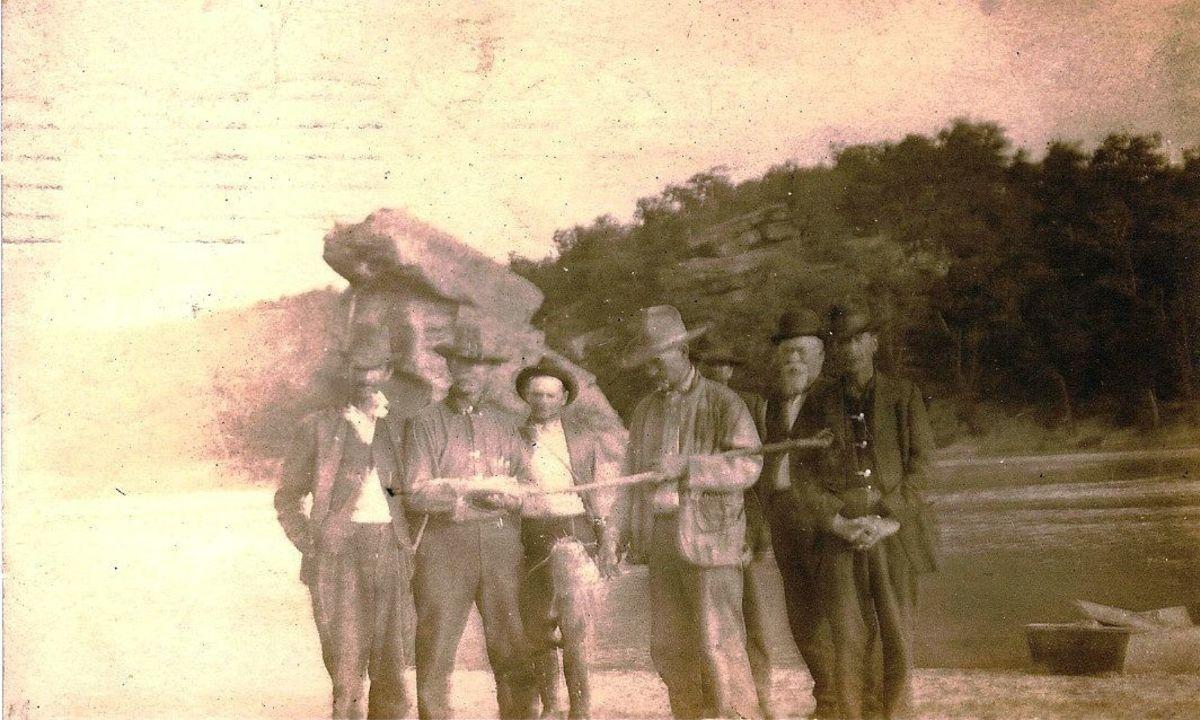 1920s view of Standing Rock