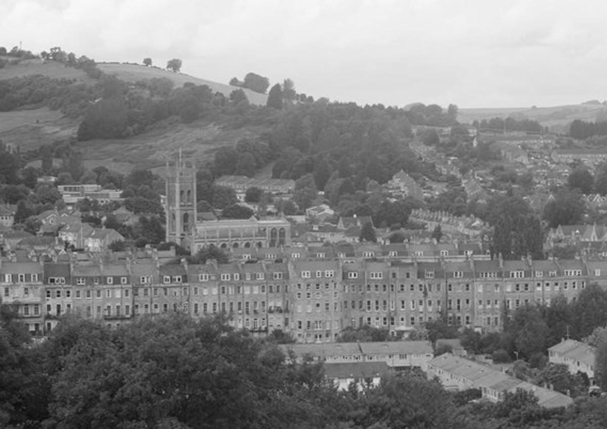 Caryll's birthplace, Bath, England, was an ancient Roman colony.