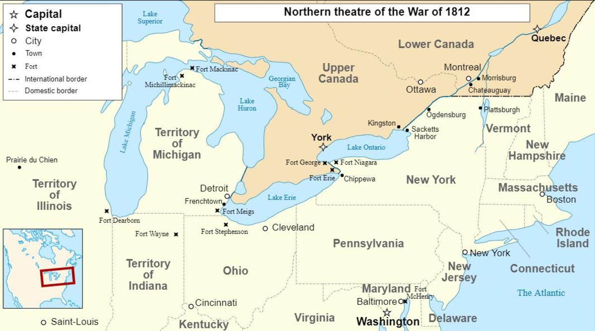 Northern Battle of the War of 1812.